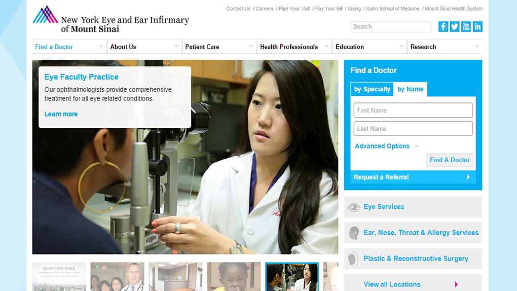 New York Eye and Ear Infirmary - Desktop Solutions